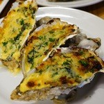 サカナバル グリル - 牡蠣オーブン焼き
