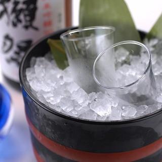 こだわりの日本酒。