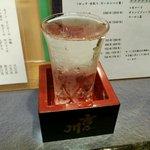 鰻 むさし乃 - 越の影虎、1合 ¥800