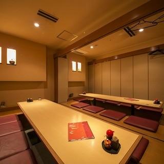 【完全個室も完備!】落ち着いた雰囲気の居心地の良い和空間