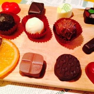 こだわりのチョコレートたち♪