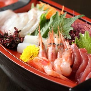 厳選された三河湾の鮮魚です