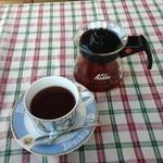 ダヤンカフェ - 珈琲チョイ薄い。