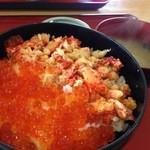 東灯 - 料理写真:花咲カニ丼