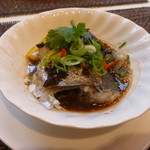 施家菜 - 蒸し魚(鰆)