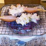 ふじ乃 - 焼き蟹