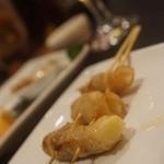 串鳥のワイン酒場 TANTO - 新生姜の豚巻き