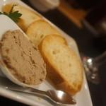 串鳥のワイン酒場 TANTO - レバパテ