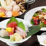 す吾六 - 鍋コース料理イメージ