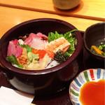 いきをい寿司 - ちらし寿司ランチ