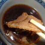 木鉢坊 - 鴨肉アップ