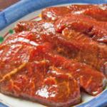 居酒屋 しんや - 軽焼きで食べられる生ラムジンギスカン