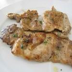 シチリアーナ - 炭火焼:若鶏のもも