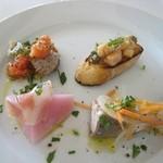 シチリアーナ - ランチ:前菜盛り合わせ