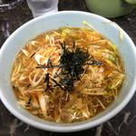 ラーメン屋 麺一 - ネギチャーシューつけ麺(つけ汁)