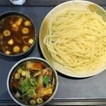 竹國 - 肉汁・カレー汁Wセット¥750