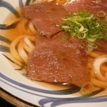 本格手打ちうどん  自家製麺  さすけ - 料理写真:国産牛肉うどん(大盛)です