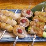 博多屋 - いつもの、肉巻きセット