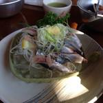 いさりび食堂 - 鰯のお刺身