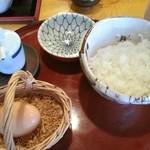 蕎屋 - monmo推薦 蕎麦屋【蕎屋】 玉子かけご飯♪オススメです♬