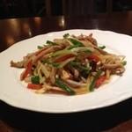 中国料理 東方美人 - チンジャオロースー