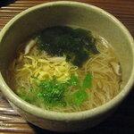 田楽 - にゅうめん480円
