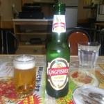 インド料理 ラサニ - インドビールのキングフィッシャー