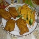 インド料理 ラサニ - チキンパコラ(鶏肉のインド風天麩羅)