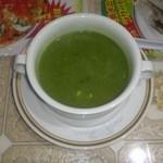 インド料理 ラサニ - ほうれん草スープ