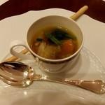 RISTORANTE REGA - 可愛いスープ