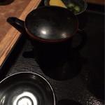 ご当地酒場 北海道八雲町 - 〆のお茶漬け