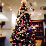カフェ マメヒコ - 冬の店内