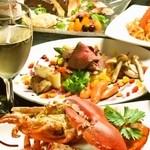 オマール海老&ラクレットチーズ 魚×肉バル オマール - 料理写真: