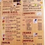 92 - ワイン、ハイボール、焼酎
