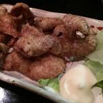 庄司 - ひな皮カリカリ揚げ500円