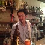 ワイン食堂 久 - マスターの久田さんです!