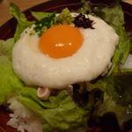 32993850 - 地鶏ユッケ丼 ランチ