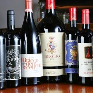 ワイン多数ご用意しております♪