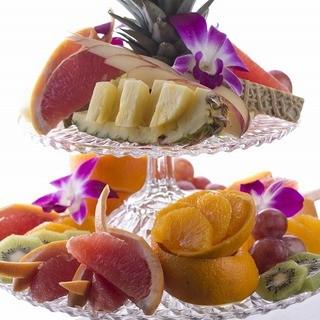 フルーツ盛りお届けします!