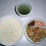 広東飲茶粥 香紅家 三軒茶屋店 - 香紅家 鶏から揚げの弁当