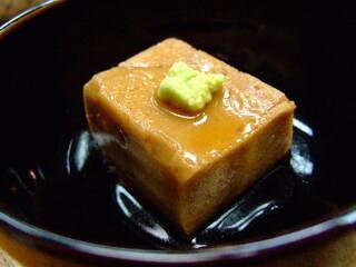 金田 - 自家製ゴマ豆腐