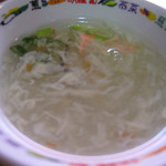 とまとはんてん - 中華スープまで付いて630円は嬉しい価格。 ごちそうさまでした♪