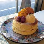 カフェ アリエッティ - 秋のパンケーキ880円