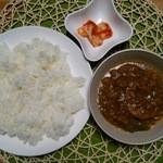 ルピー - バリカレー980円