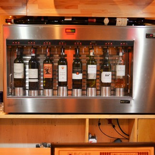 ◆「酸化しない」グラスワイン