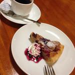 グリーンハウス - ダブルベリーパイ&ブレンドコーヒー