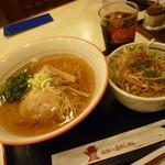 飛騨の高山らーめん - 「ミニ丼ランチ (850円)」