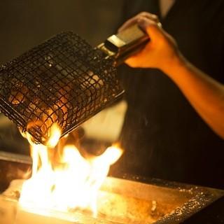 職人が炭火を使って本気で焼き上げる極旨焼鳥◎
