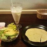 ナマステ - ナマステランチ 1 ドリンク・サラダ・パパド