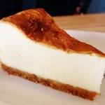 オーバル コーヒースタンド - チーズケーキ